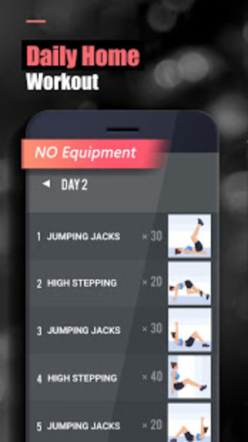 BeFit Workout free home fitness course for women for Android