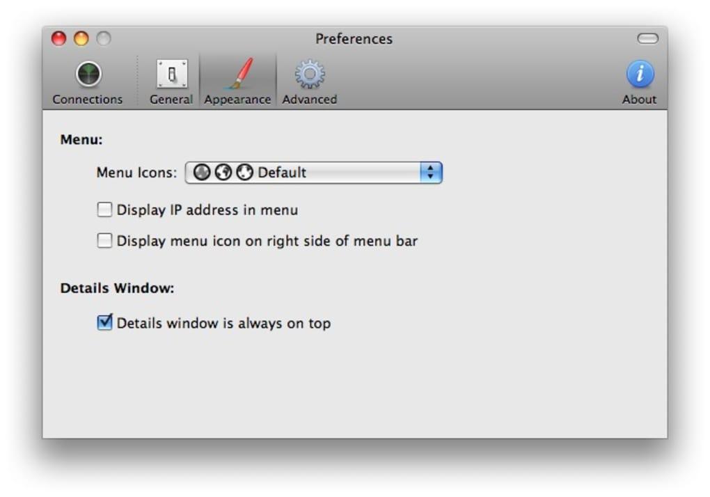 Viscosity for Mac - Download