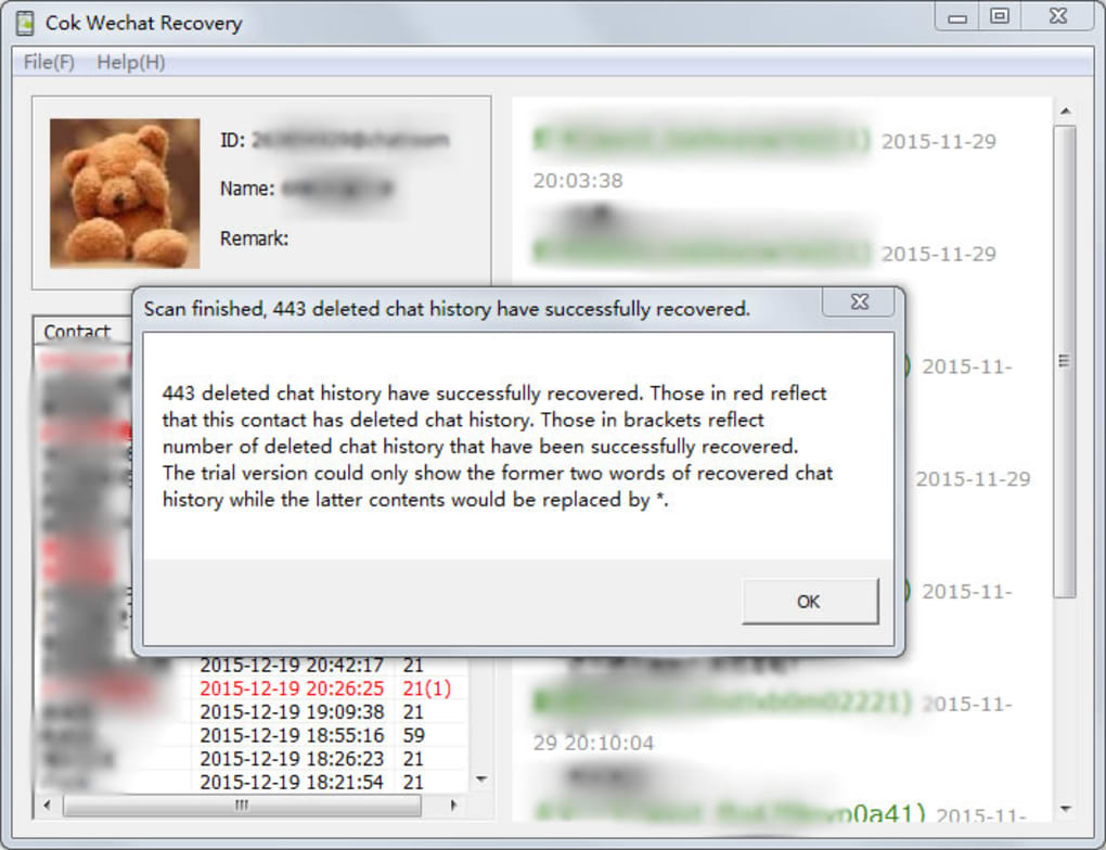 Cok Wechat Recovery - Download