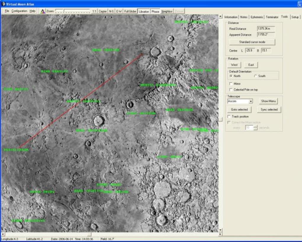 Virtual Moon Atlas - Download