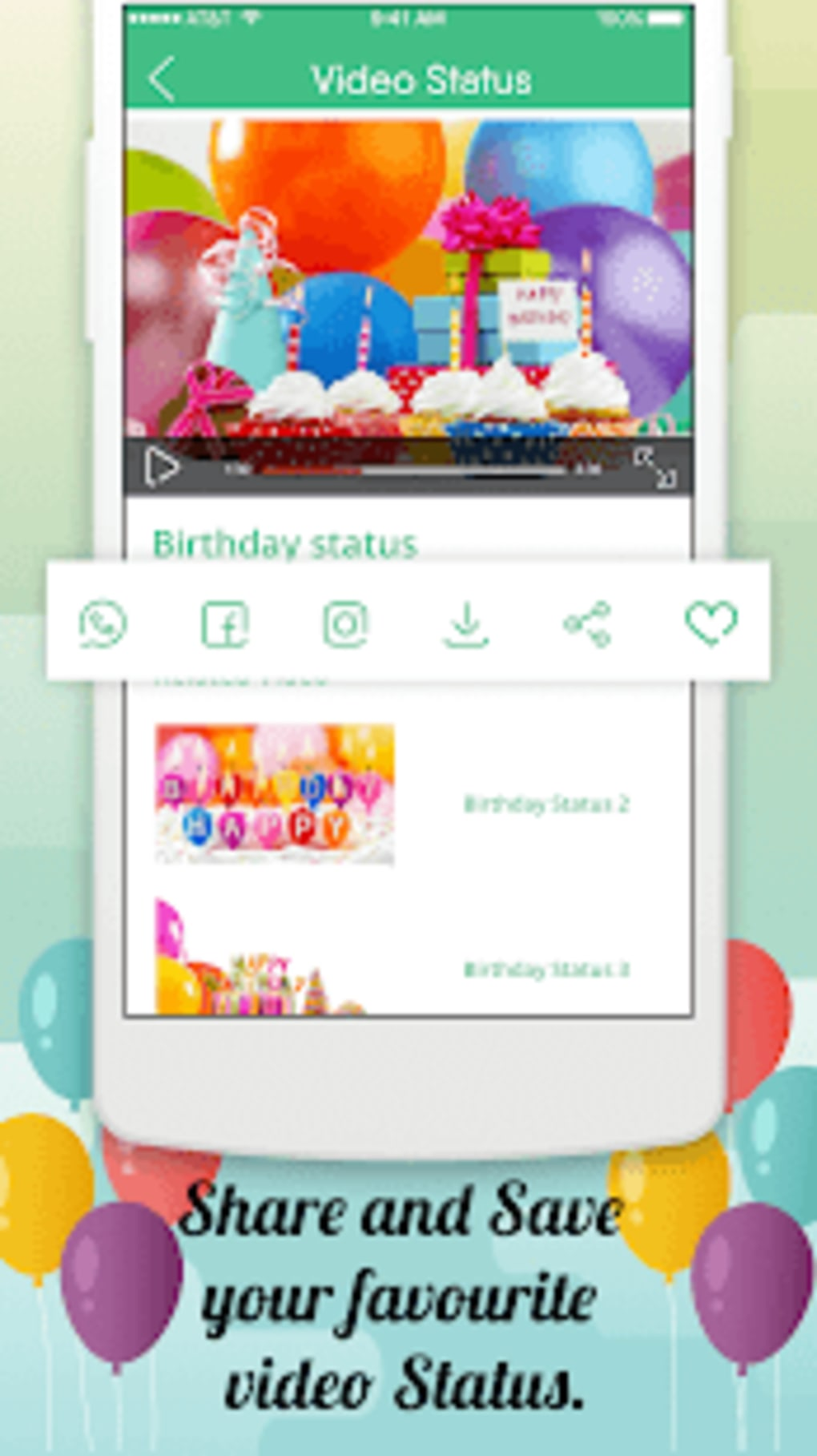 Birthday Video Songs Status for Android - Download