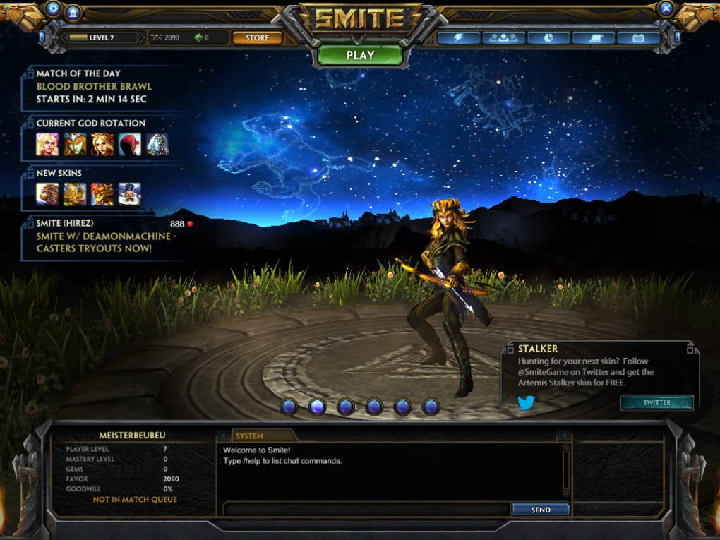 how to download smite on mac