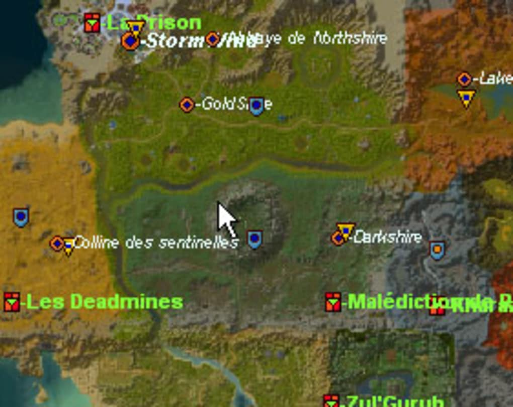 wow cartographe 1.10