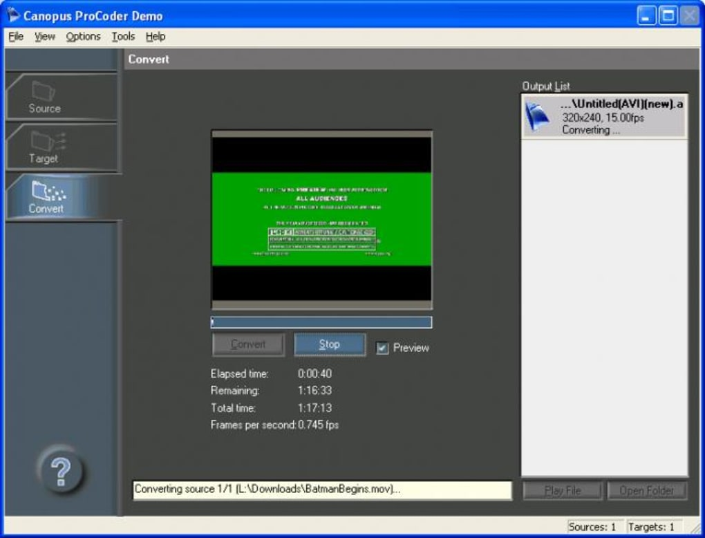 Canopus Procoder 64bit Win7