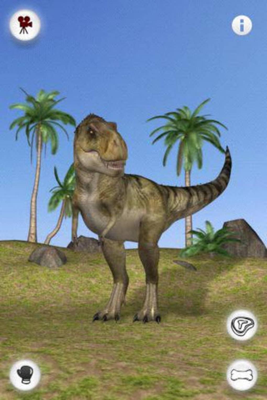 talking rex the dinosaur para iphone download