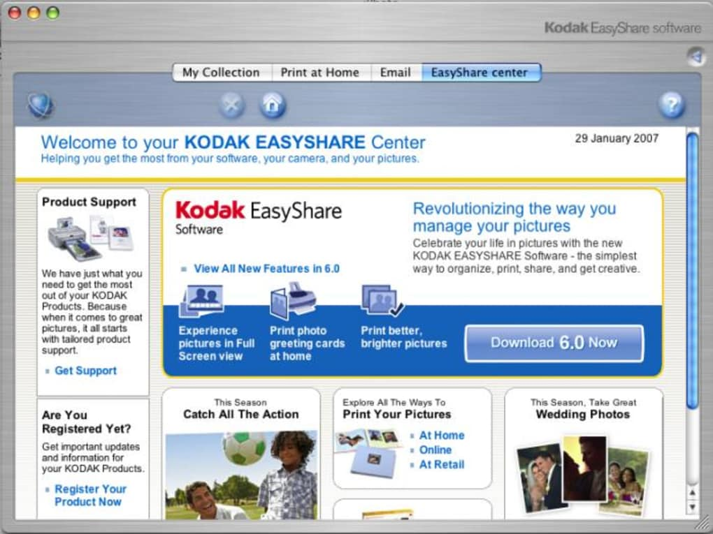 kodak easyshare z650 software download mac