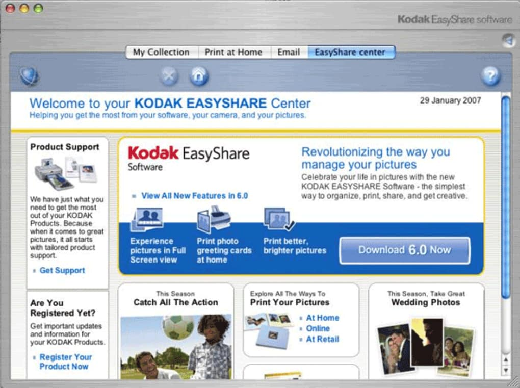Kodak EasyShare Software is the easiest way to sort, share, print, and get creative