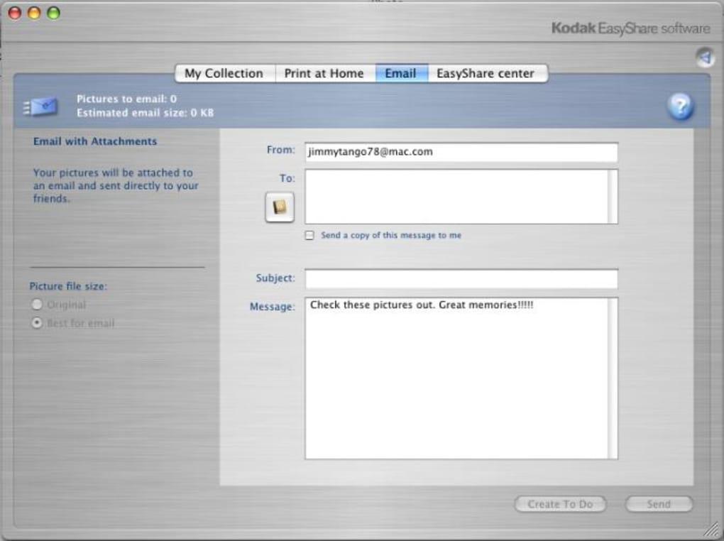 le logiciel kodak easyshare