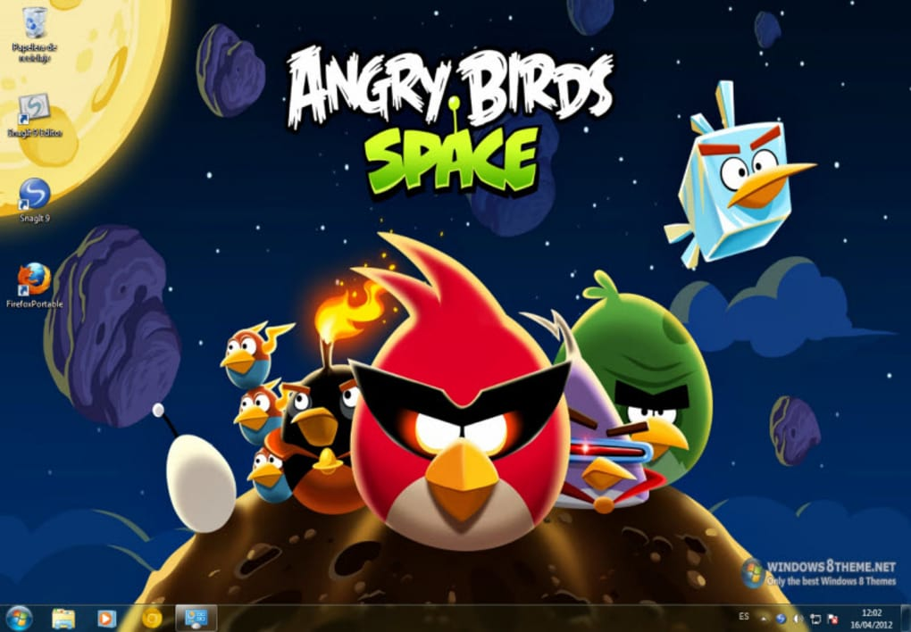 Tema de Angry Birds Space - Download