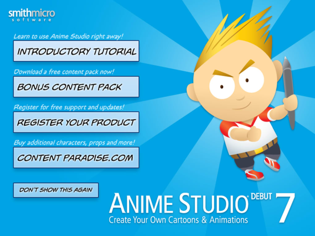 anime studio debut 7 serial number free