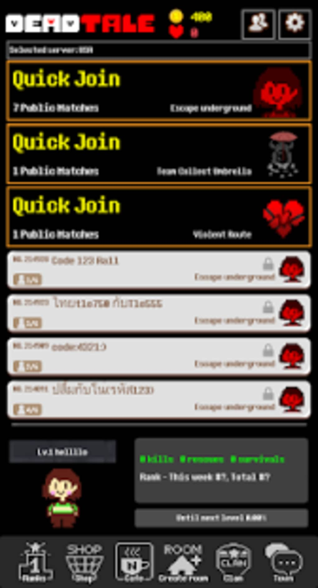 deadtale online for undertale for android download
