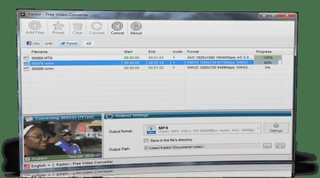 kastor free video converter