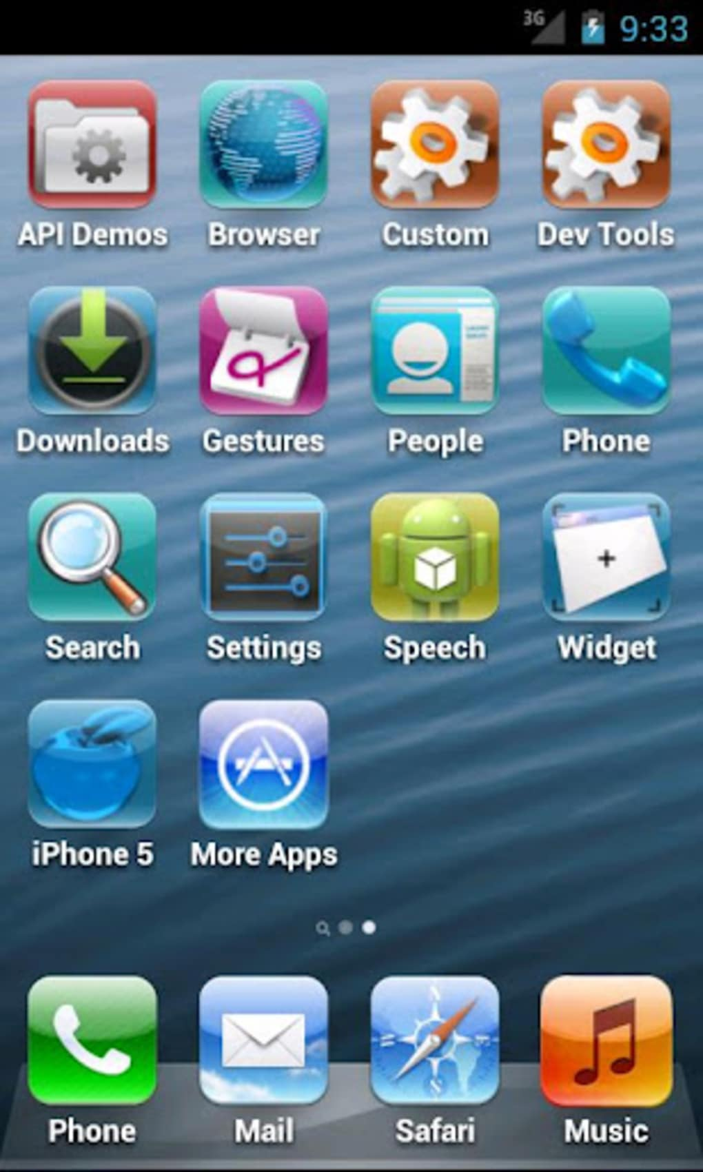 Fake iPhone 5 for Android - Download