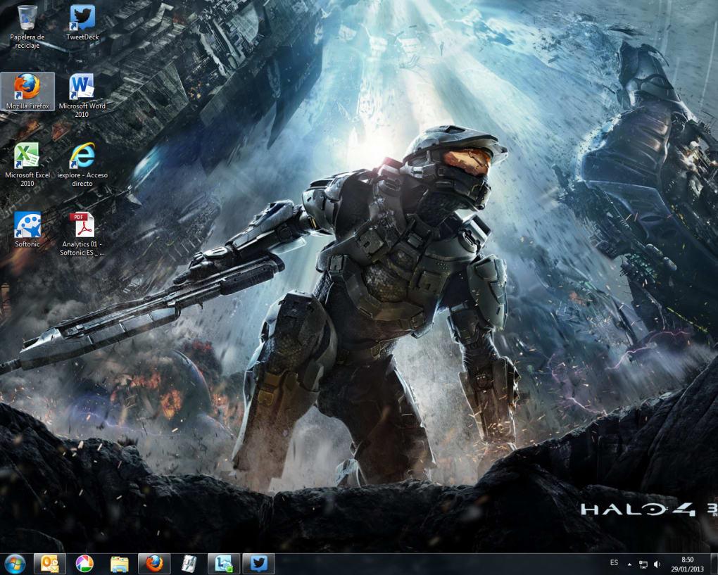 Tema Halo 4 Heroes - Download
