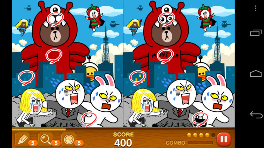 Line Hidden Catch for Android - Download