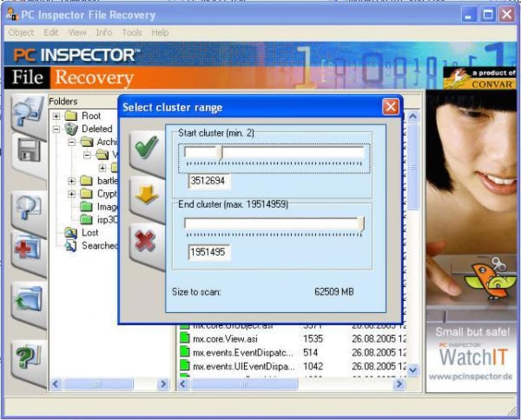 Pc inspector file recovery alternative for windows and mac.