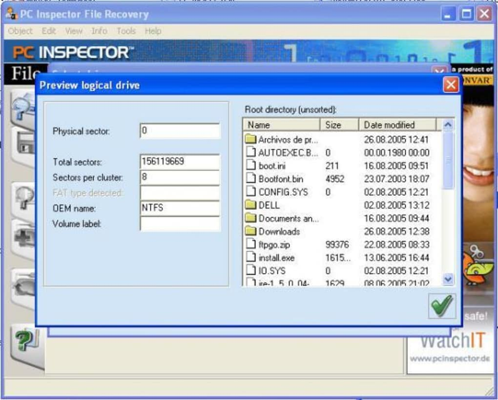 Pc inspector file recovery download.