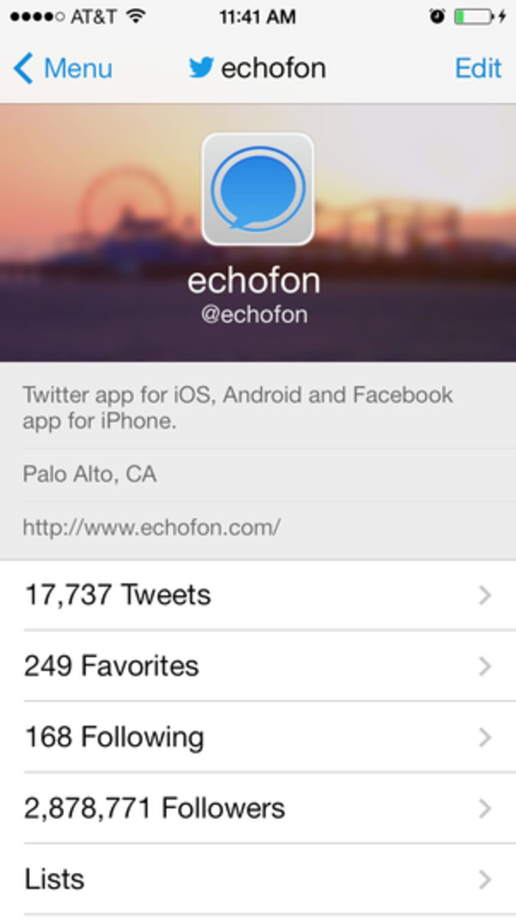 TwitterFon for iPhone - Download