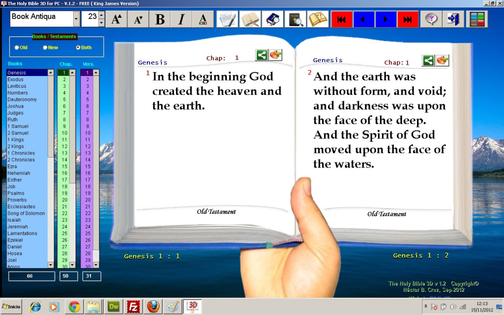 The Holy Bible 3D - Download