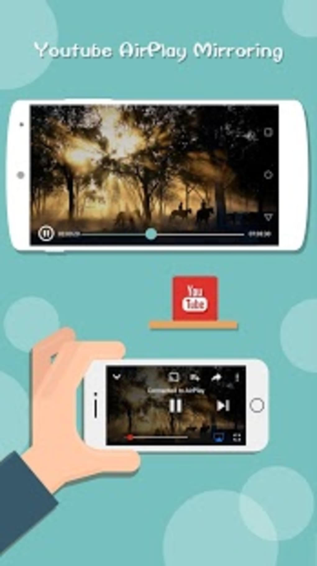 AirScreen - AirPlay & Miracast for Android - Download