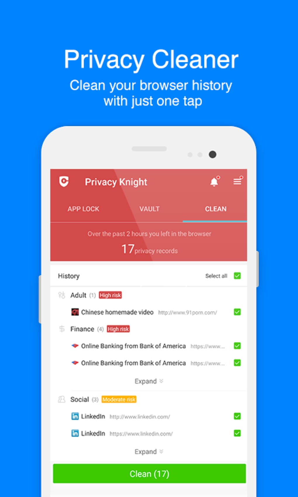 Free App Lock - Privacy Knight for Android - Download