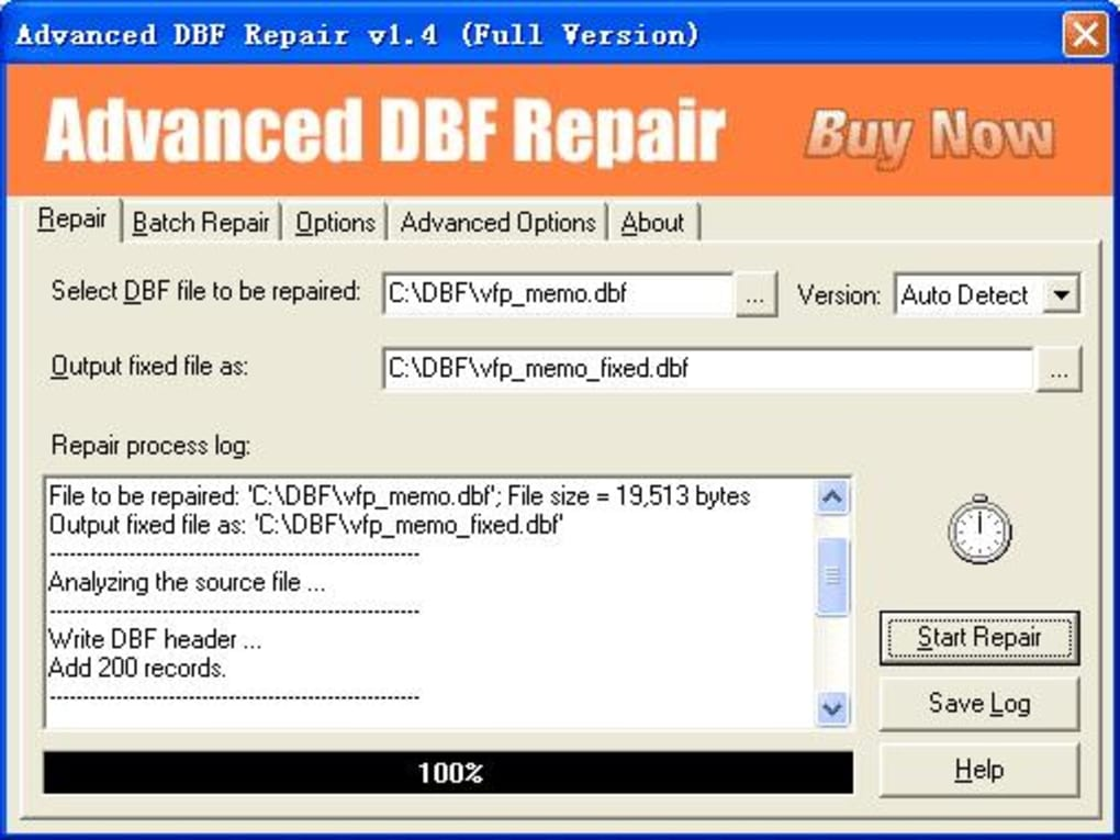 Advanced DBF Repair - Download