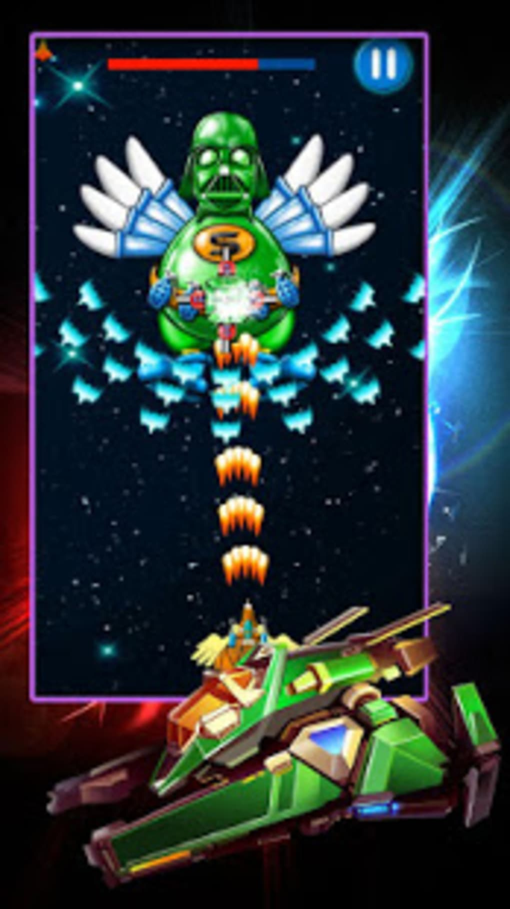 Chicken Shooter: Galaxy Attack for Android - Download