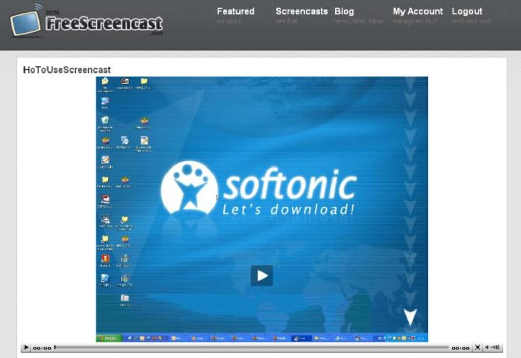 screencast software for windows 7 free download