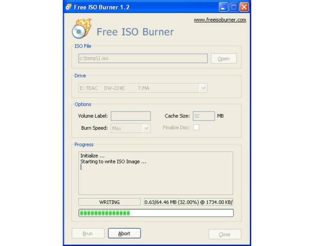 Free iso burner download.