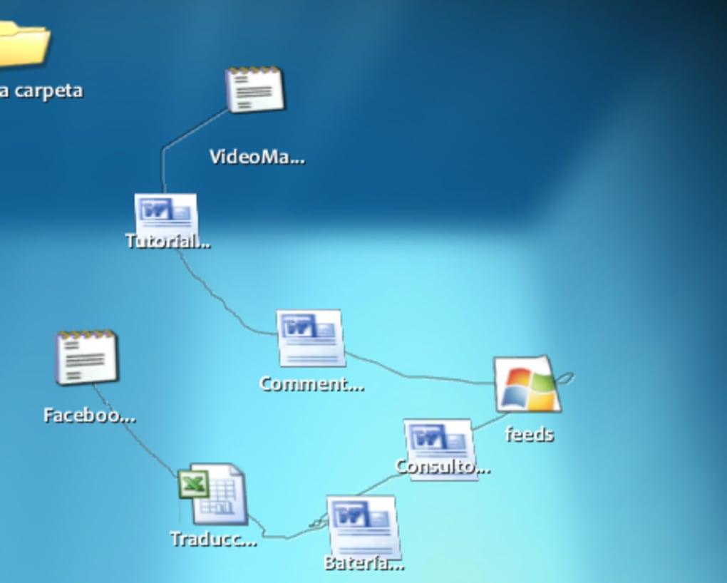 bumptop rea de trabalho desktop 3d