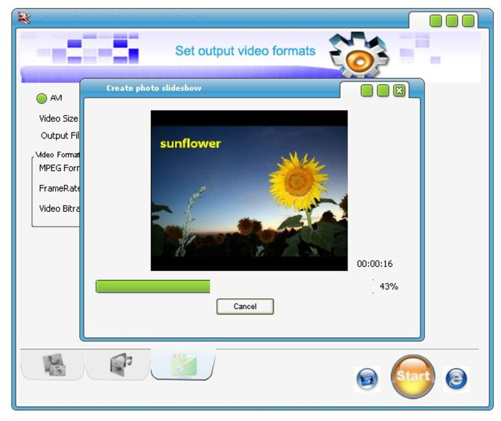 extra photo to video converter free online