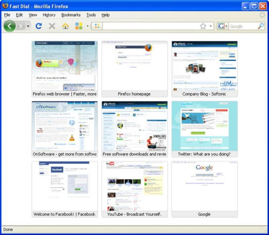 fast dial mozilla firefox free download