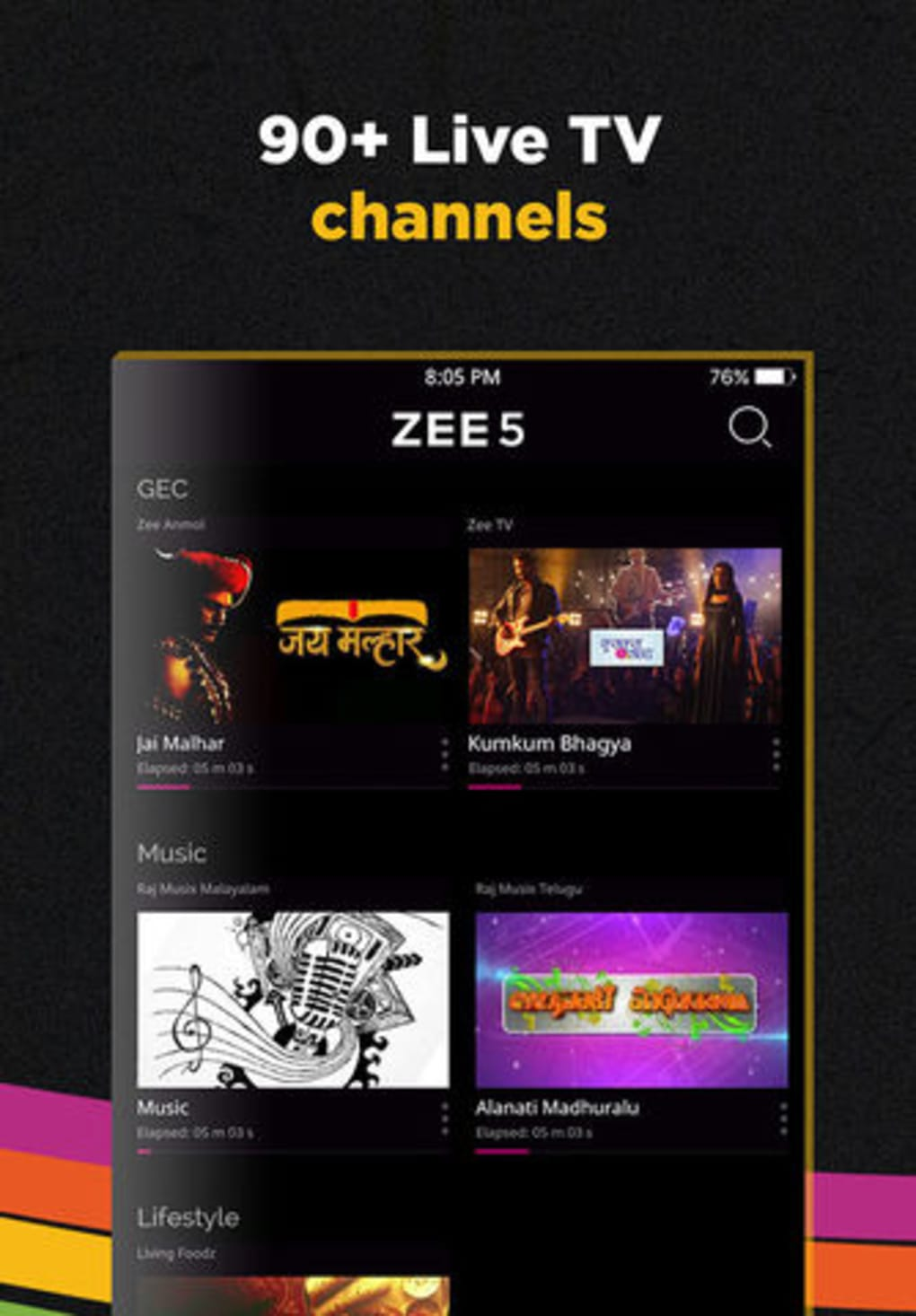 ZEE5 - Shows Live TV & Movies for iPhone - Download
