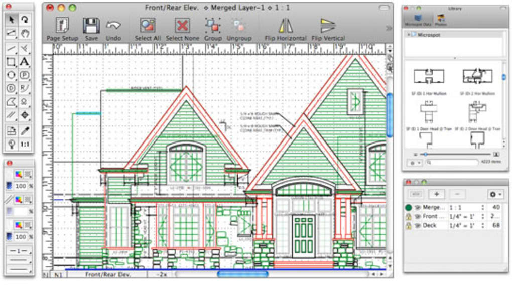 free 2d drafting software for mac