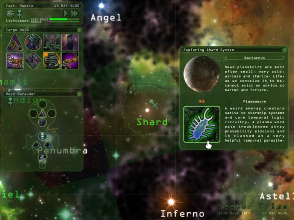 weird worlds return to infinite space mac