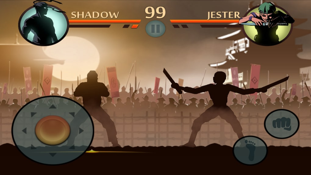 shadow fight 2 взломанную на ios