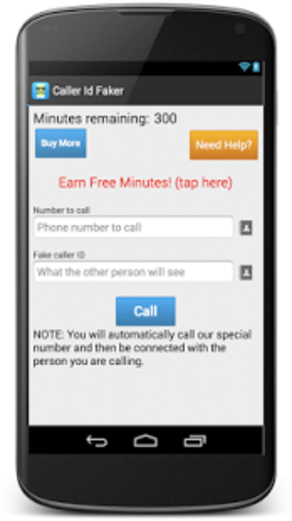 Caller ID Faker for Android - Download