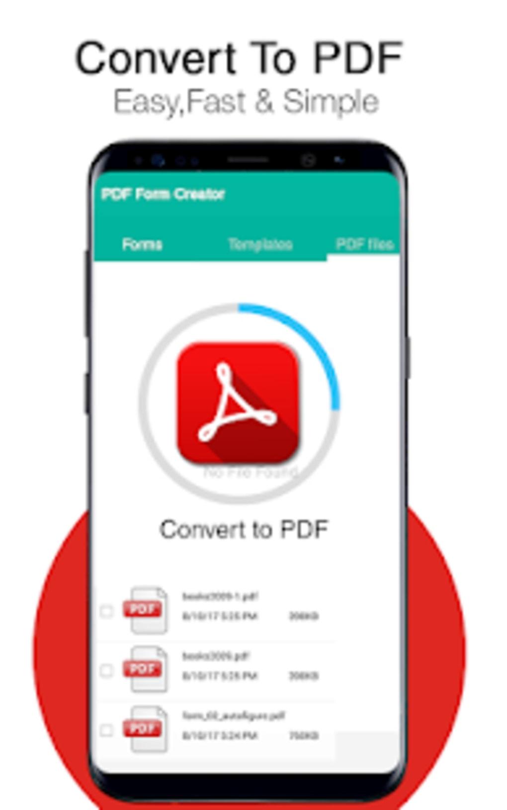 PDF form Creator PDF Editor CV Maker لنظام Android - تنزيل