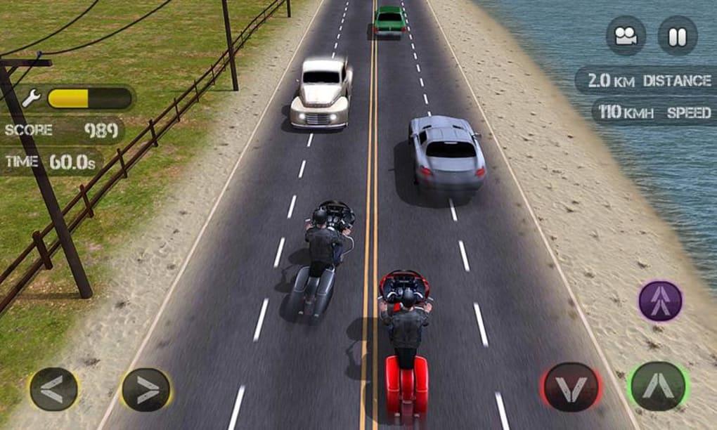 Race the Traffic Moto