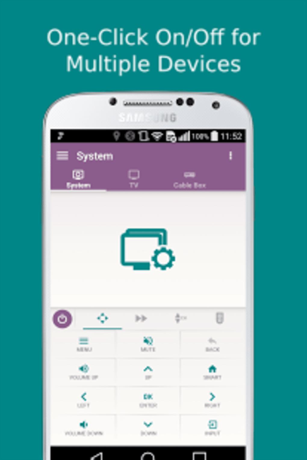Sure universal smart tv remote apk free download   SURE