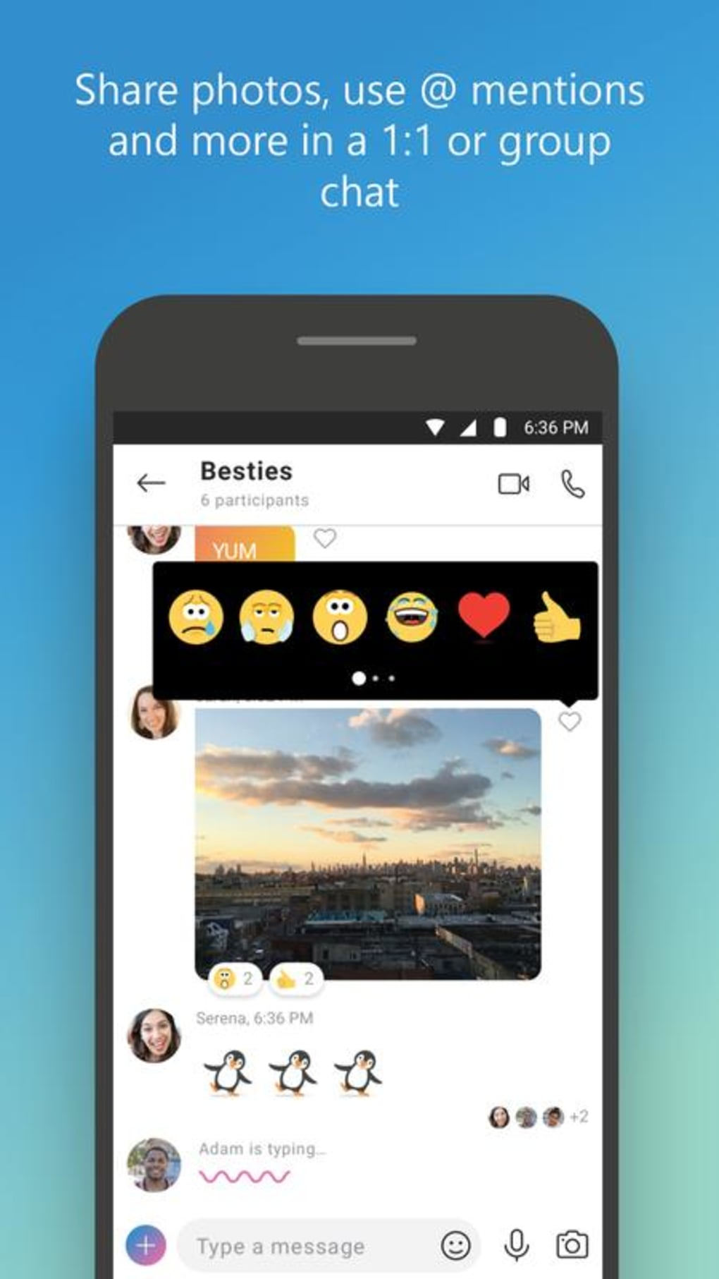 Skype for android download.