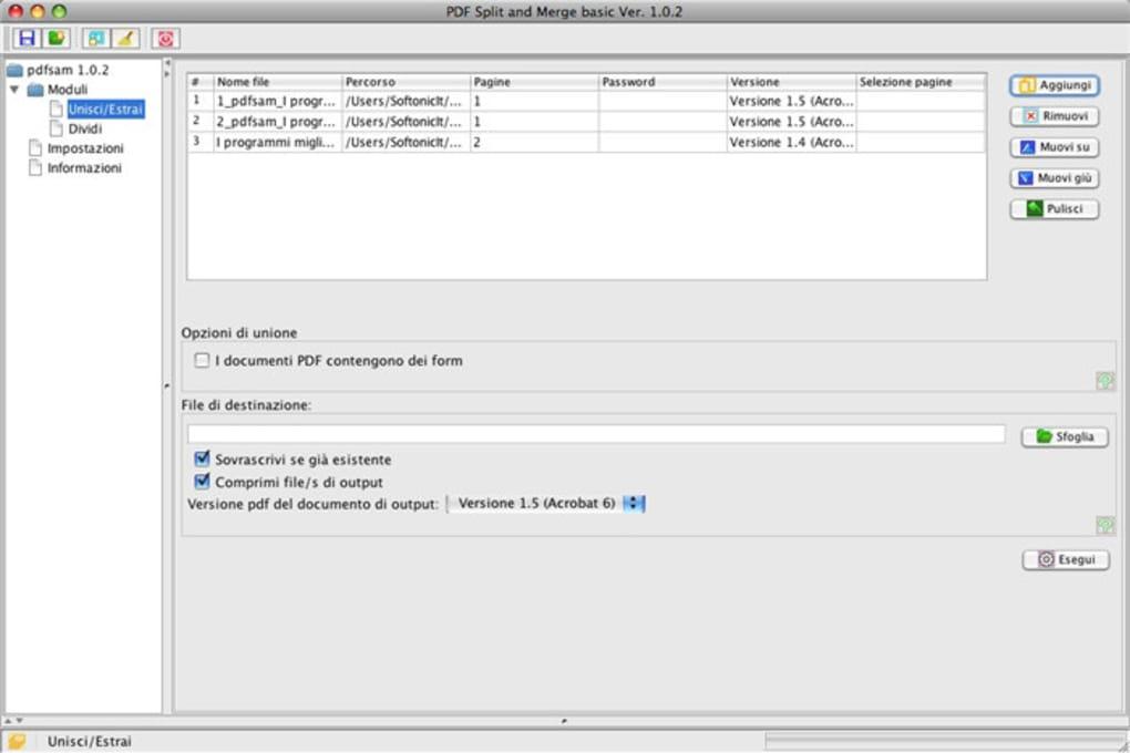 Pdf Split And Merge Per Mac Download