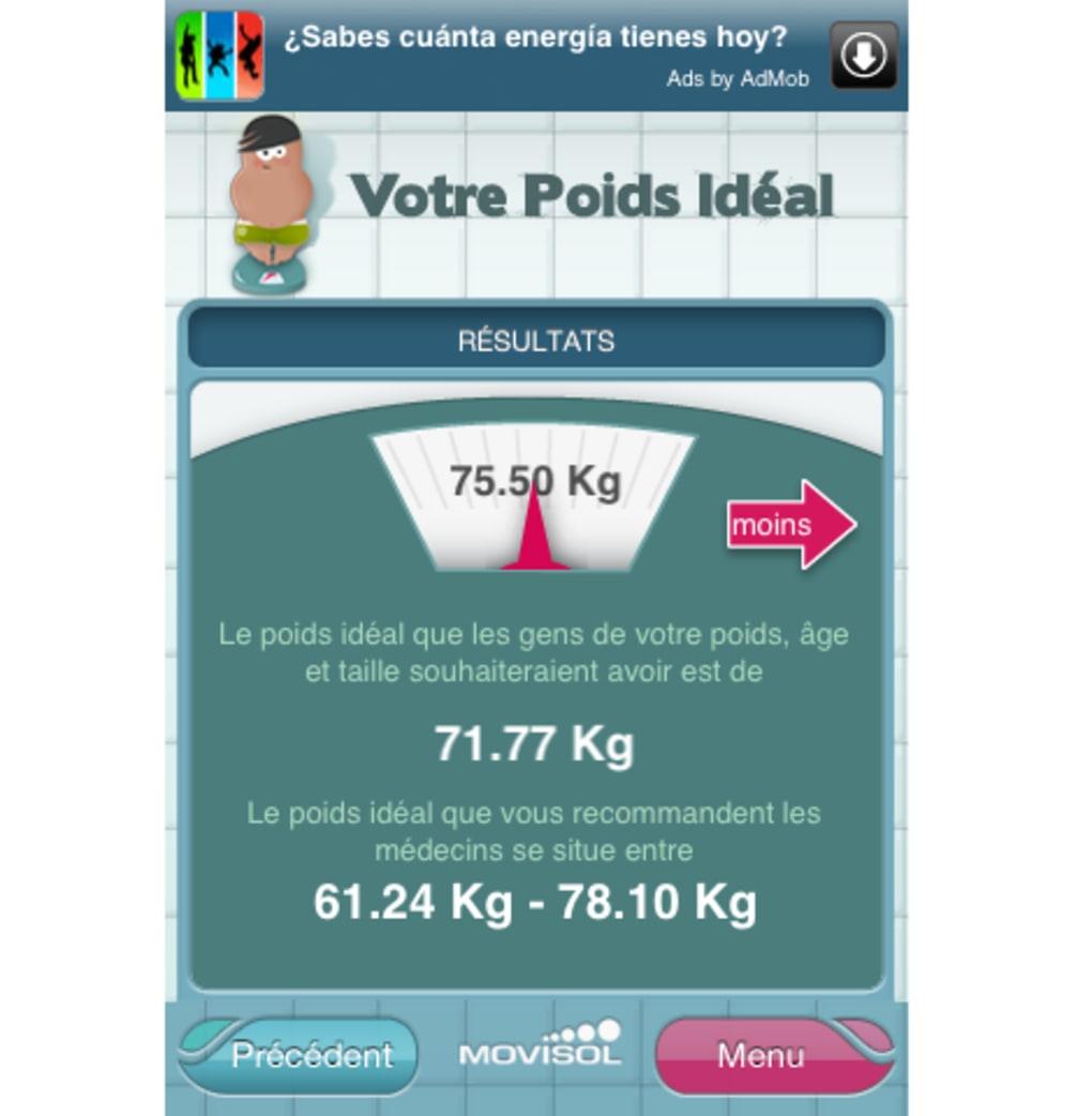 telecharger poids ideal 123 gratuit