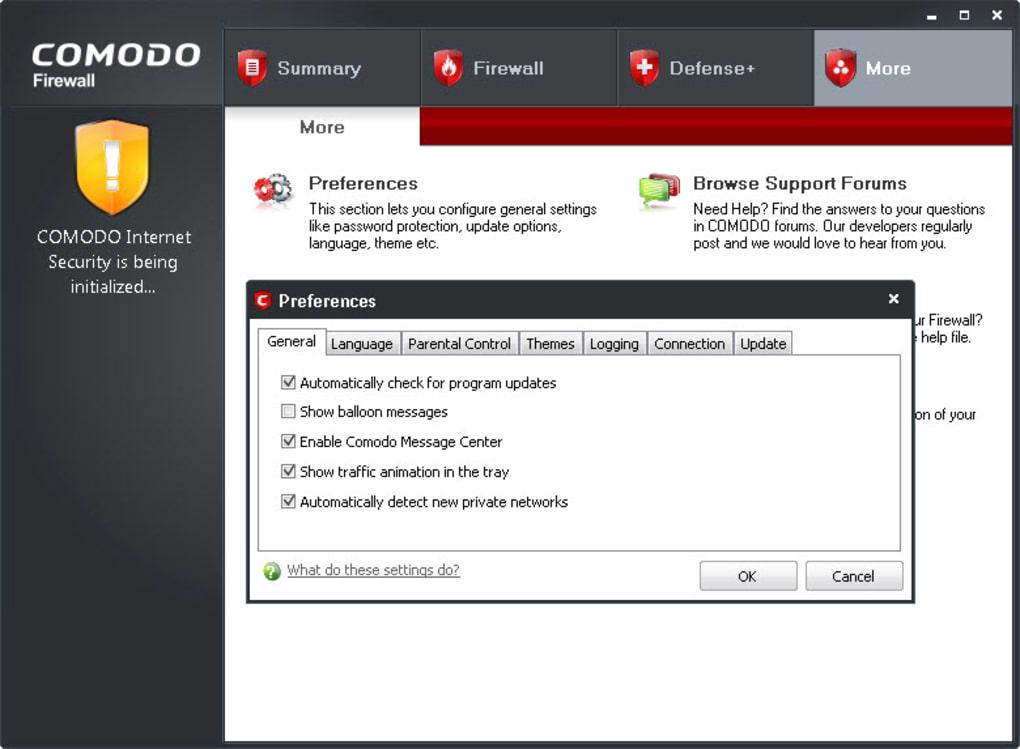 comodo free firewall full download
