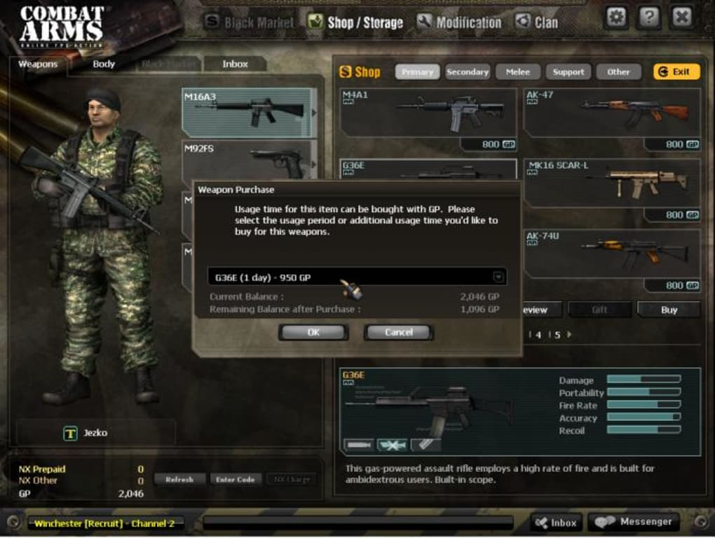 combat arms eu 01net