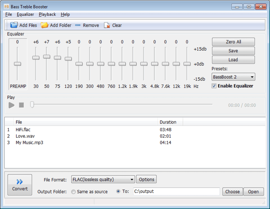 audio amplifier software for laptop free download