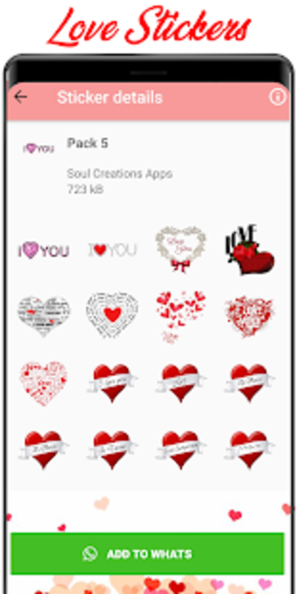 New WAStickerApps Love Love Sticker 2019 for Android - Download