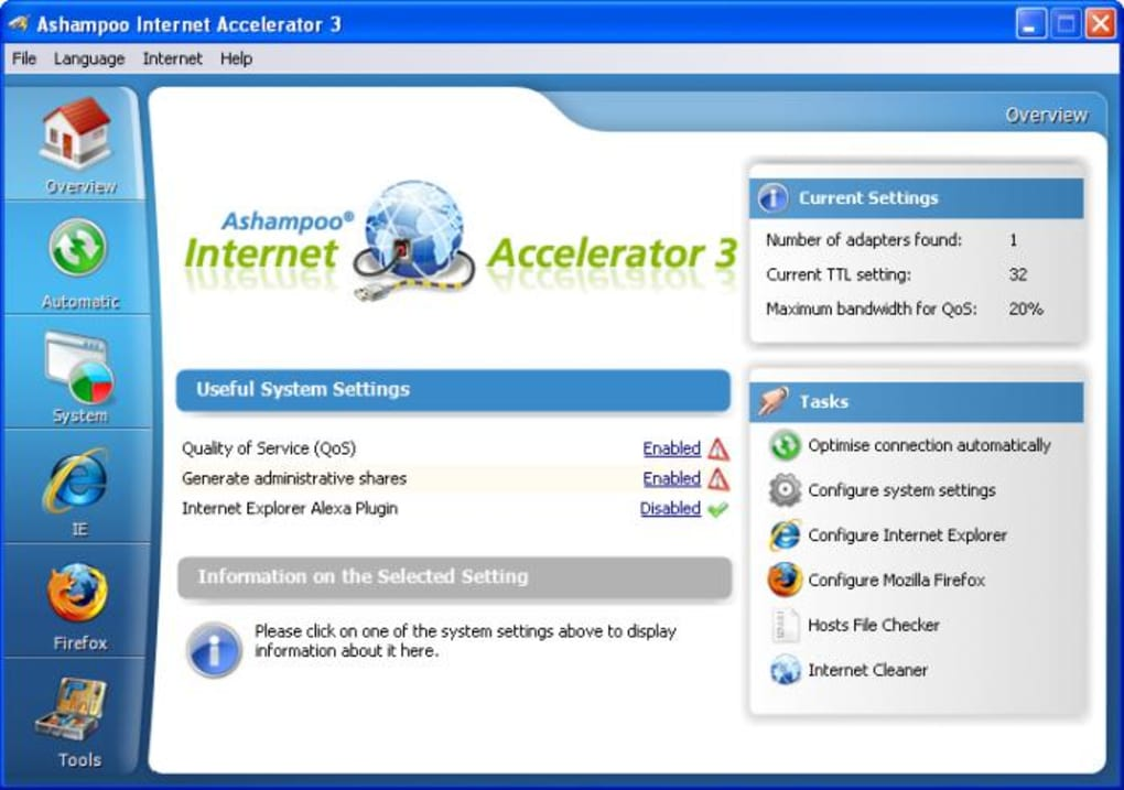 which version of Ashampoo Internet Accelerator to buy?