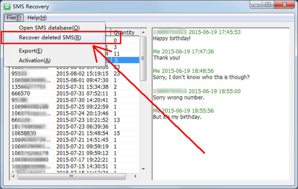 SMS Recovery - Download