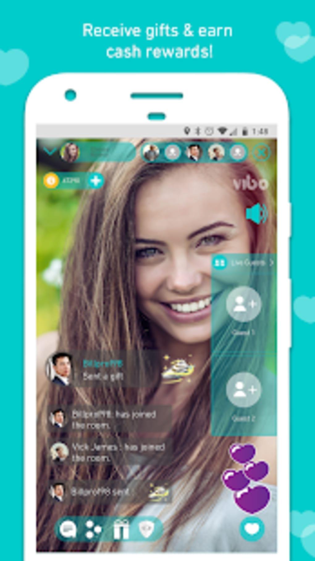 Vibo Live: Live Stream Random call Video chat لنظام Android